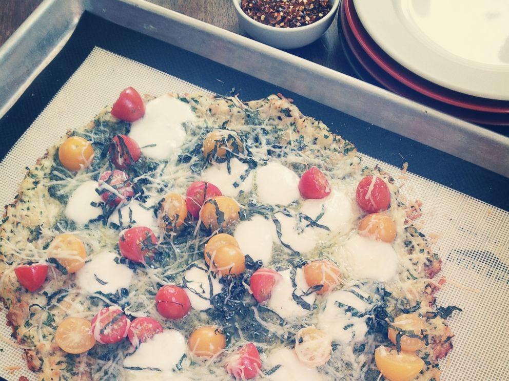 PHOTO: Allrecipes Cauliflower Pizza Crust