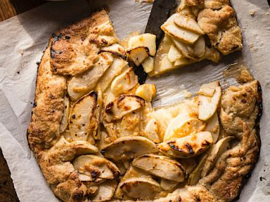 PHOTO: Ali Larters Apple Crostata with Aged Gouda
