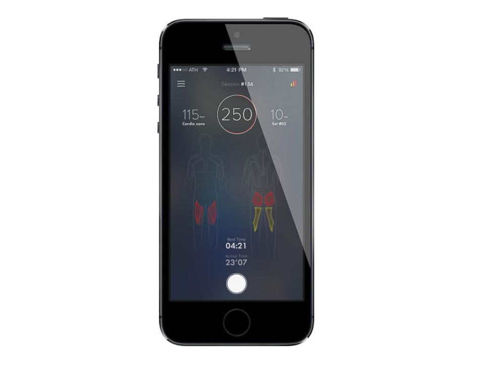 PHOTO: Athos technology claims to use biosignals from your body to correct and optimize your workout through its new workout gear.