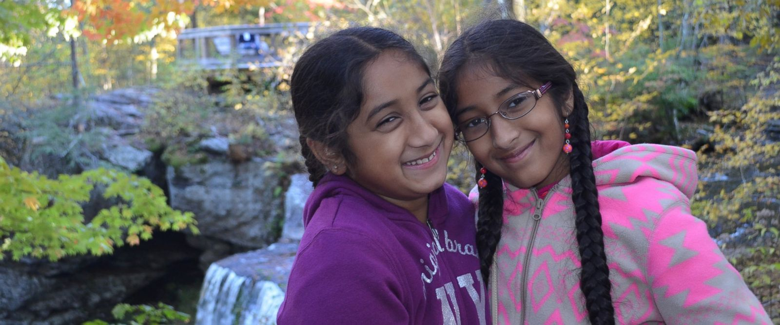 PHOTO: Eashana, 12, right, created an app to help her sister, Meghana Subramanian, 9, who is on the autism spectrum.