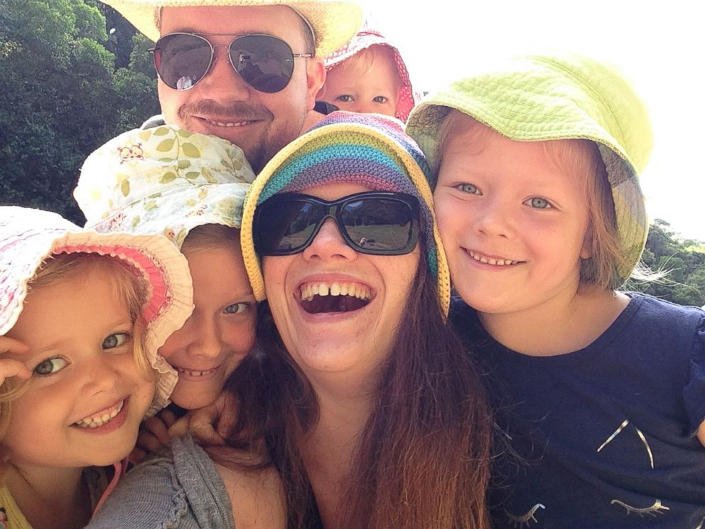 PHOTO: Chris Offer, father of four girls, realized he had autism after his eldest daughter, Scarlett, was diagnosed.