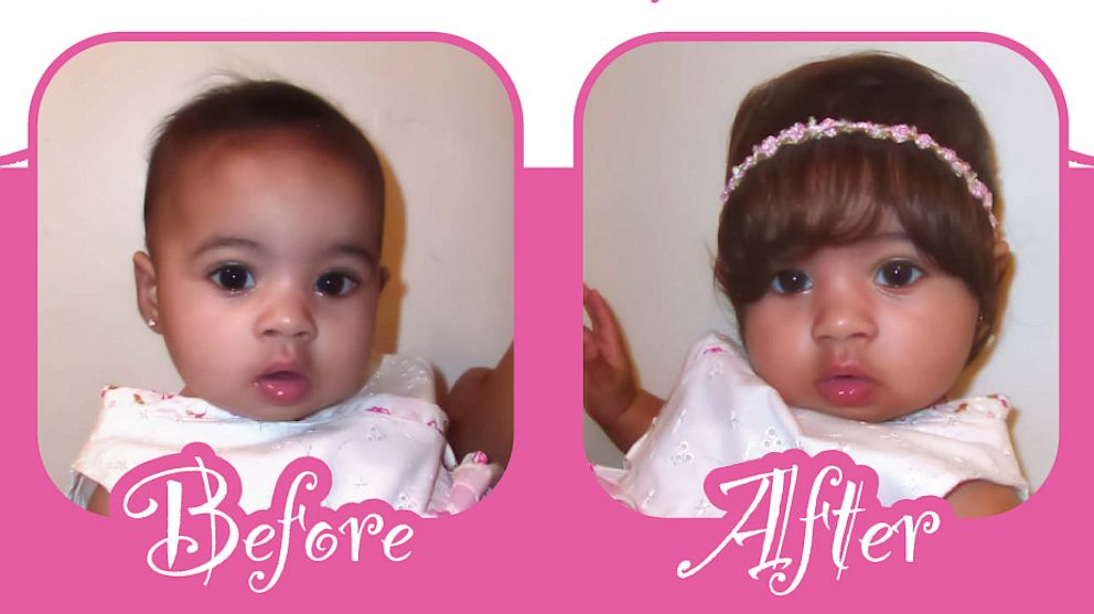 PHOTO: Baby Bang is a hair and band enhancement accessory made for babies.