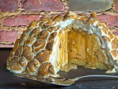 Tasting Tables Thanksgiving Baked Alaska