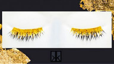 HT barneys gold eye lashes 16x9 384 24k Gold Latest in Lash Luxury