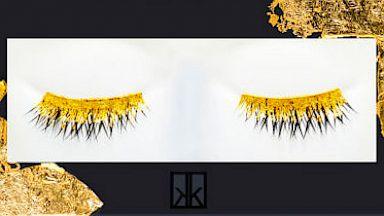 HT barneys gold eye lashes 16x9 384 24k Gold Latest in Lash Luxury