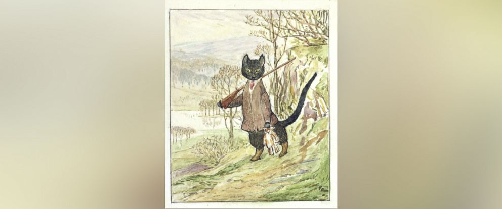 "PHOTO: ""The Tale of Kitty-in-Boots,"" a lost Beatrix Potter story written over a century ago, was recently rediscovered and is set to be published for the first time in September of 2016."