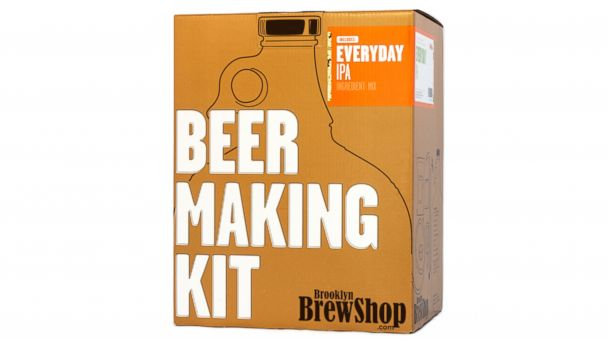 PHOTO: Make your own beer at home with this kit.