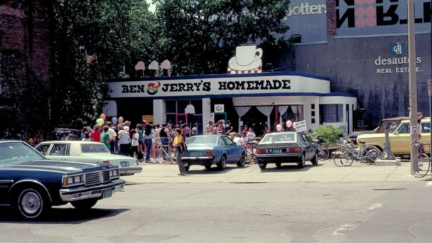 PHOTO: Ben and Jerrys Throwback