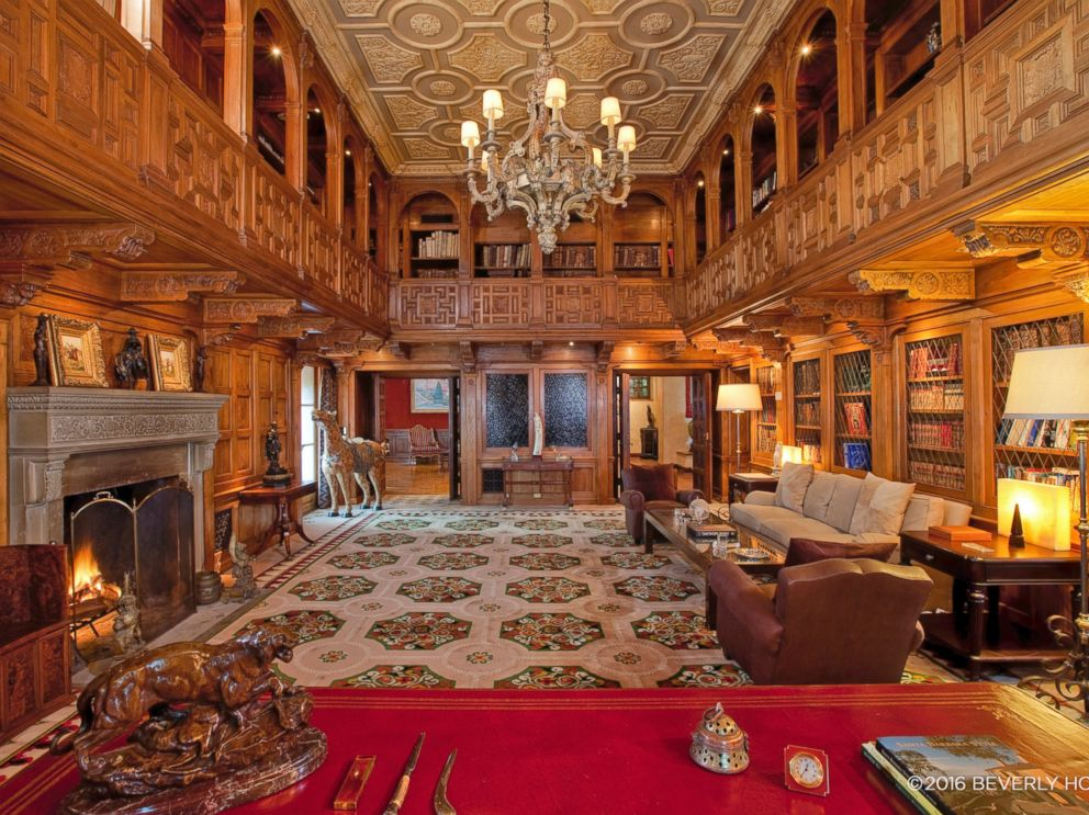 PHOTO: The Beverly House, well known for being the mansion featured in The Godfather, is on the market for $195 million.