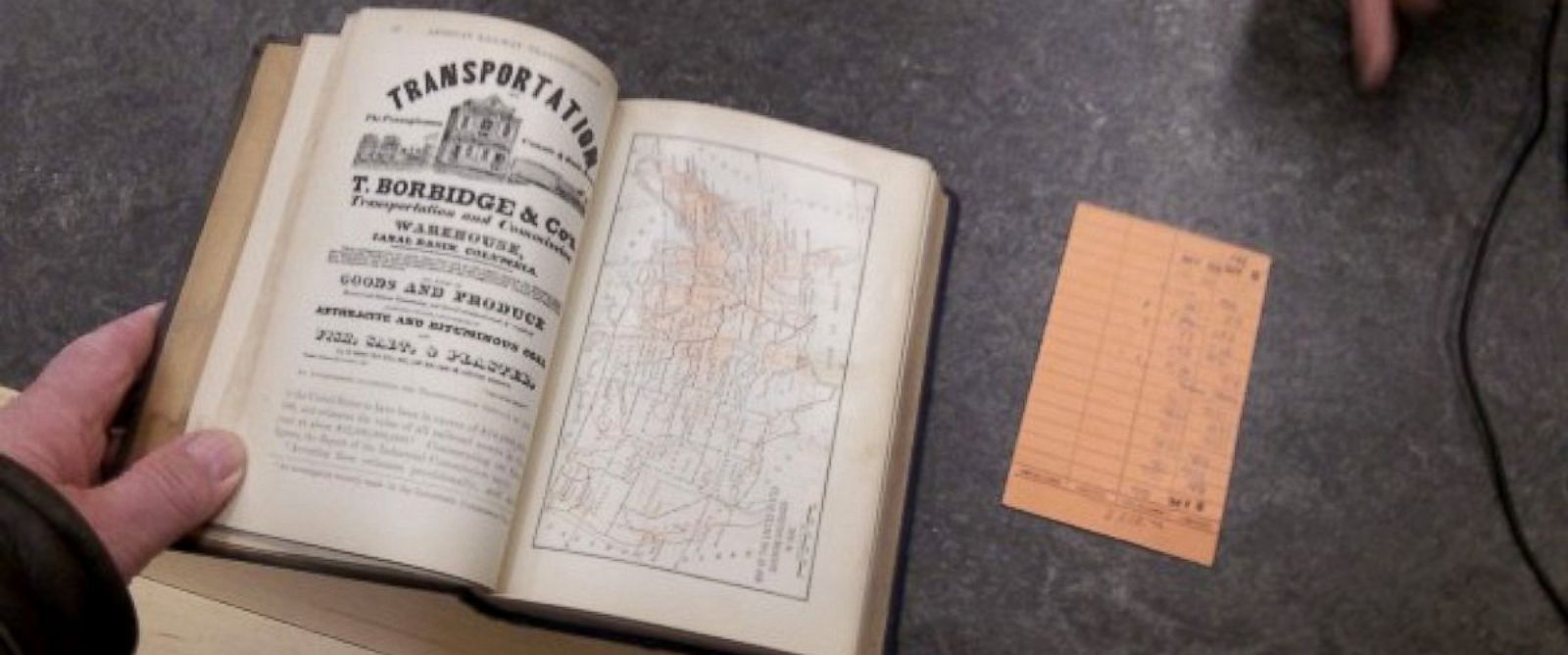 PHOTO: A library book around 81 years overdue was found in the walls of a home in Albany, Oregon.