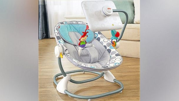 PHOTO: The Fischer-Price Newborn-to-Toddler Apptivity Seat, for use with iPads.