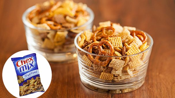 PHOTO: This elegant recipe for Chex Party Mix is cooked in duck fat.