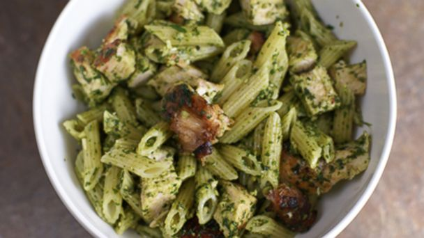 PHOTO: Grilled Chicken Spinach Pesto
