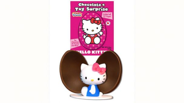 PHOTO: Choco Treasure is the only legal chocolate egg with a toy surprise inside in the USA.