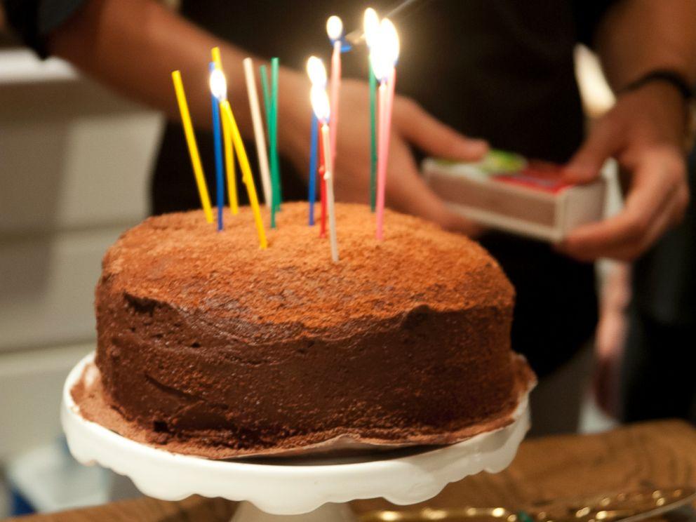 PHOTO: Claire Thomas chocolate devils food cake.