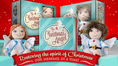 PHOTO: The Christmas Angel is an alternative to Elf on the Shelf.