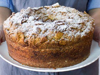 Cinnamon roll birthday cake recipe