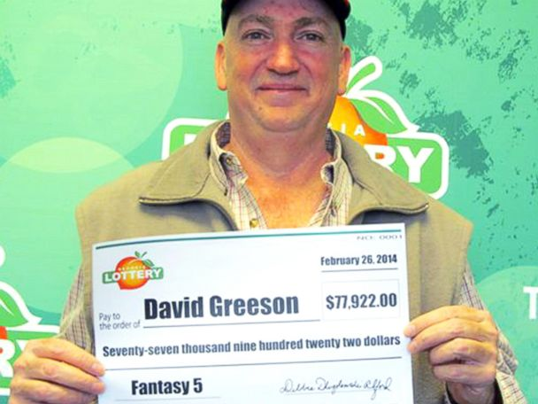 HT david greeson georgia lottery sk 140317 4x3 608 Georgia Man Wins Lotto With His Late Wifes Special Numbers