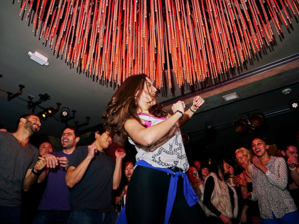 PHOTO: Daybreaker hosts parties for people living sober lifestyles.