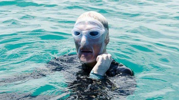 HT diana nyad jelly mask tk 130902 16x9 608 Diana Nyad Buoyed by Special Face Mask