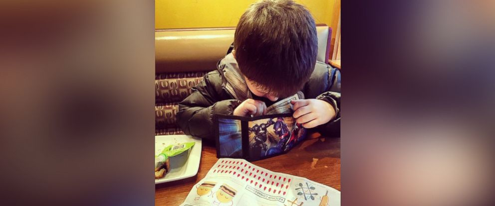 PHOTO: Six-year-old Lyle treats his mother, reality TV star Nikkole Paulun, to a dinner date every month with money he earns from his allowance.