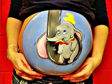 Photos: Bulging Baby Bumps Become Works of Art