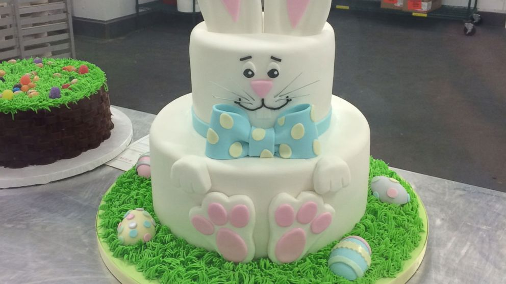 Life Size Easter Bunny Cake