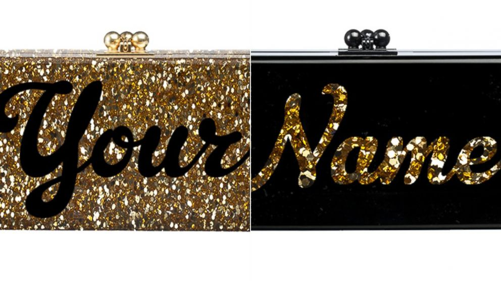 PHOTO: These bespoke Edie Parker clutches are a conversation starter.