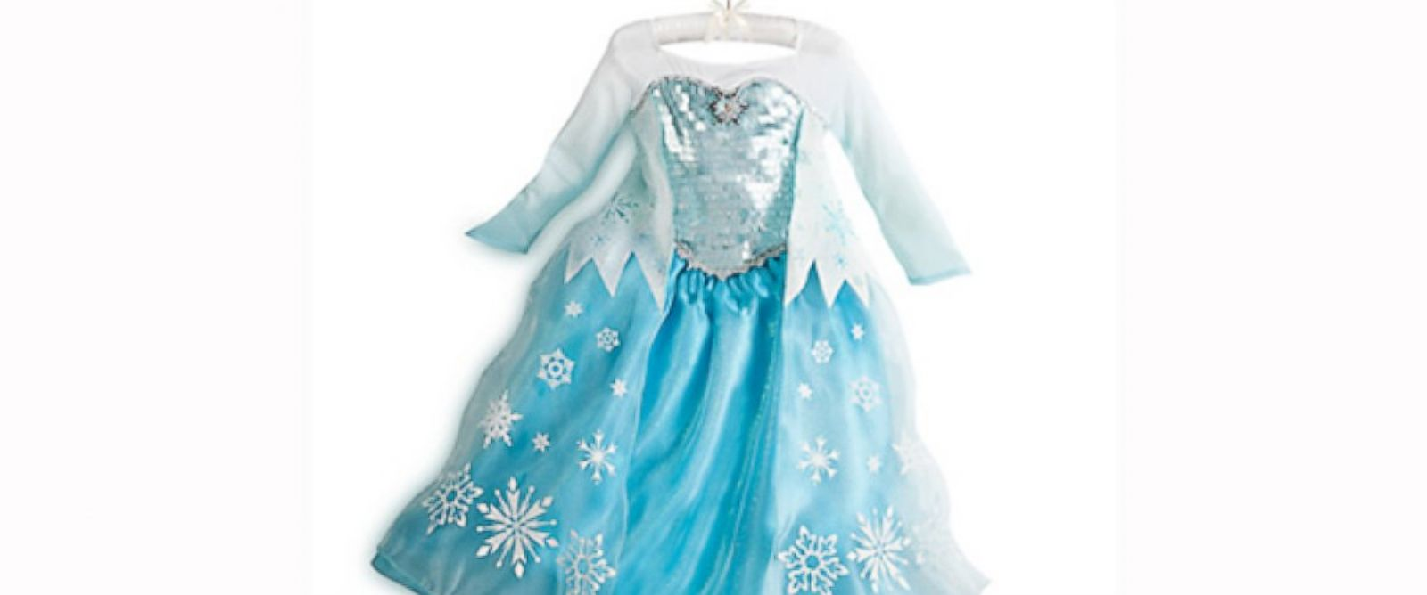 PHOTO: Disney Consumer Products announced that more than 3 million Disney Frozen Elsa and Anna role-play dresses have been sold at Disney Store and mass retailers in North America alone in less than a year.