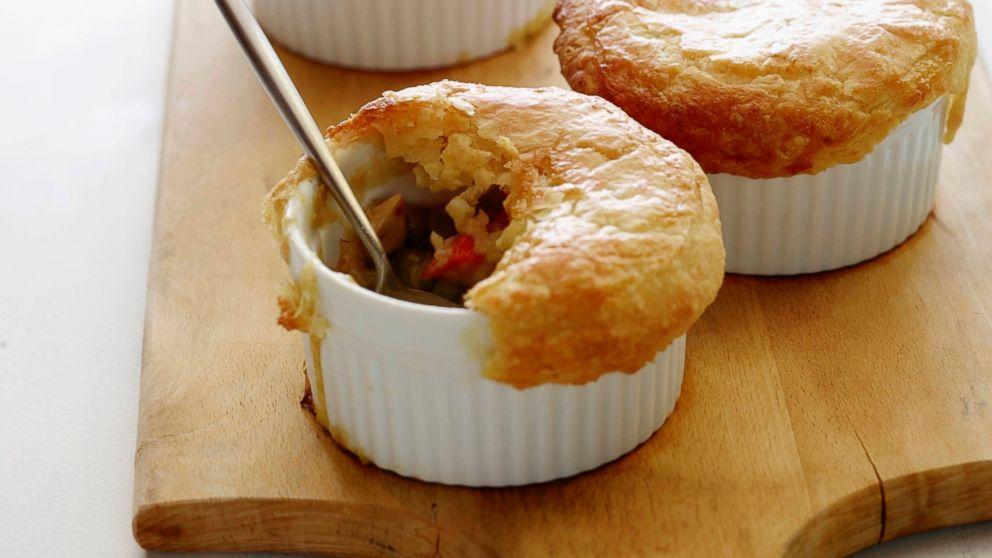 Chicken Pot Pies Recipe | Fabio Viviani | Recipe - ABC News