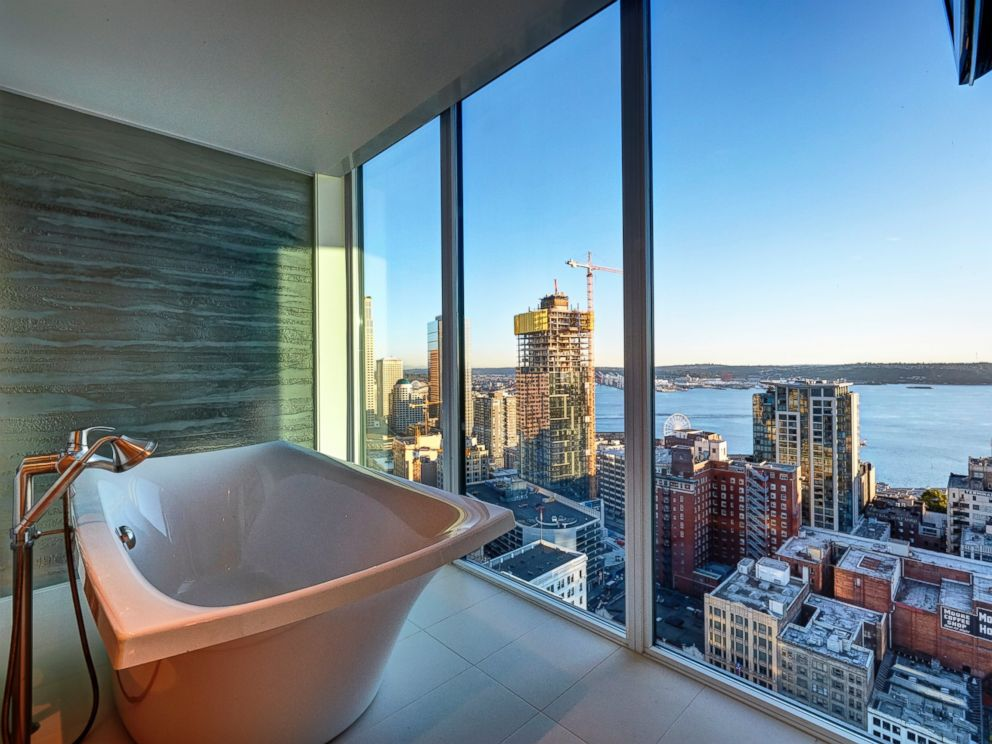 Penthouse that inspired christian grey 39 s apartment in 50 shades of grey house