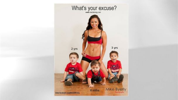HT fit mom maria kang jt 131015 16x9 608 Fit Mom Defends Controversial Photo: I Never Called You Fat