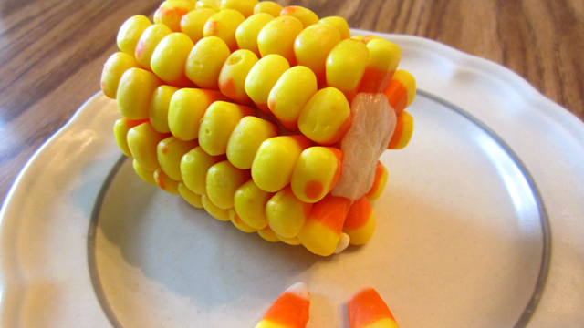 PHOTO: Candy Corn on the Cob | Your Kitchen