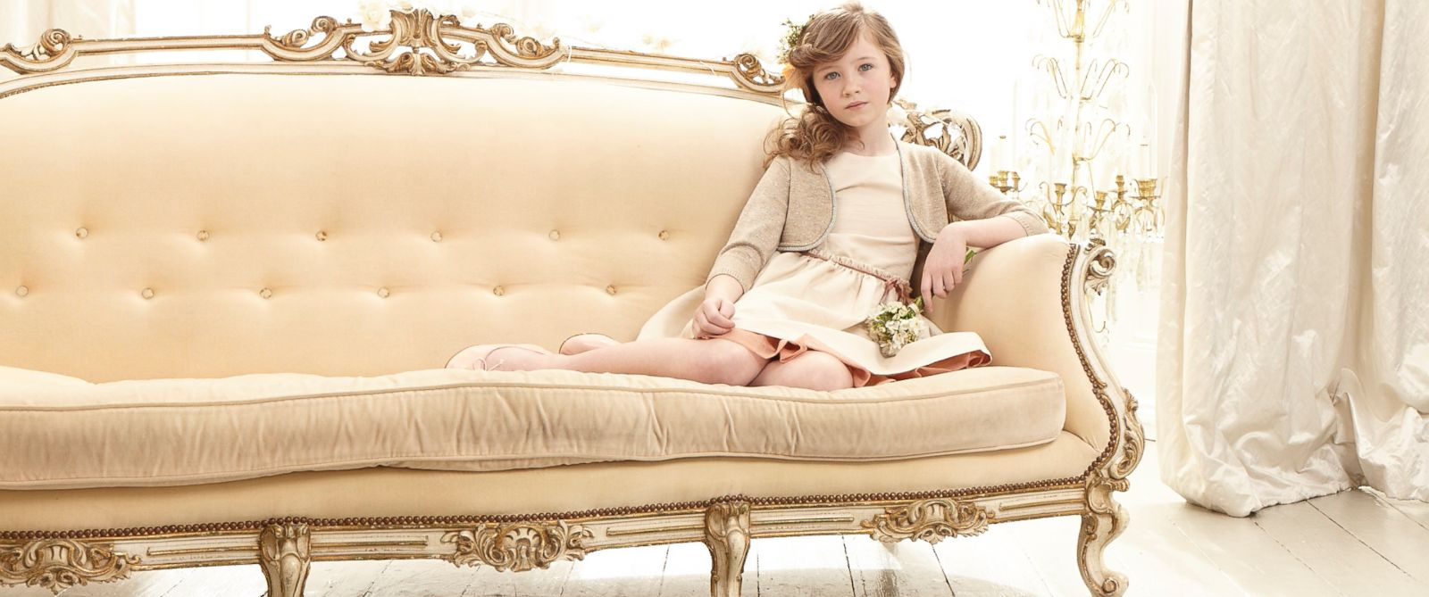 PHOTO: Jacquard Dress by Marie-Chantal Children