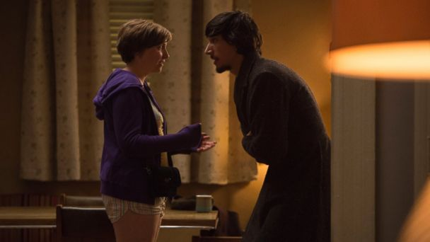 PHOTO: Lena Dunham's character Hannah on HBO's Girls argues with her boyfriend Adam (played by Adam Driver).
