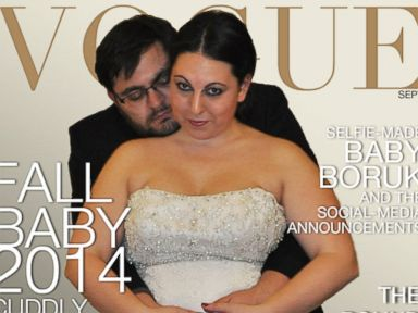 Expecting Couple Creates Hilarious Vogue Cover Parody