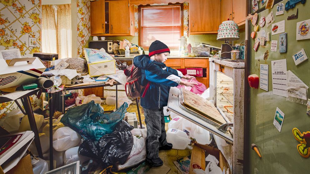 Hoarder house images