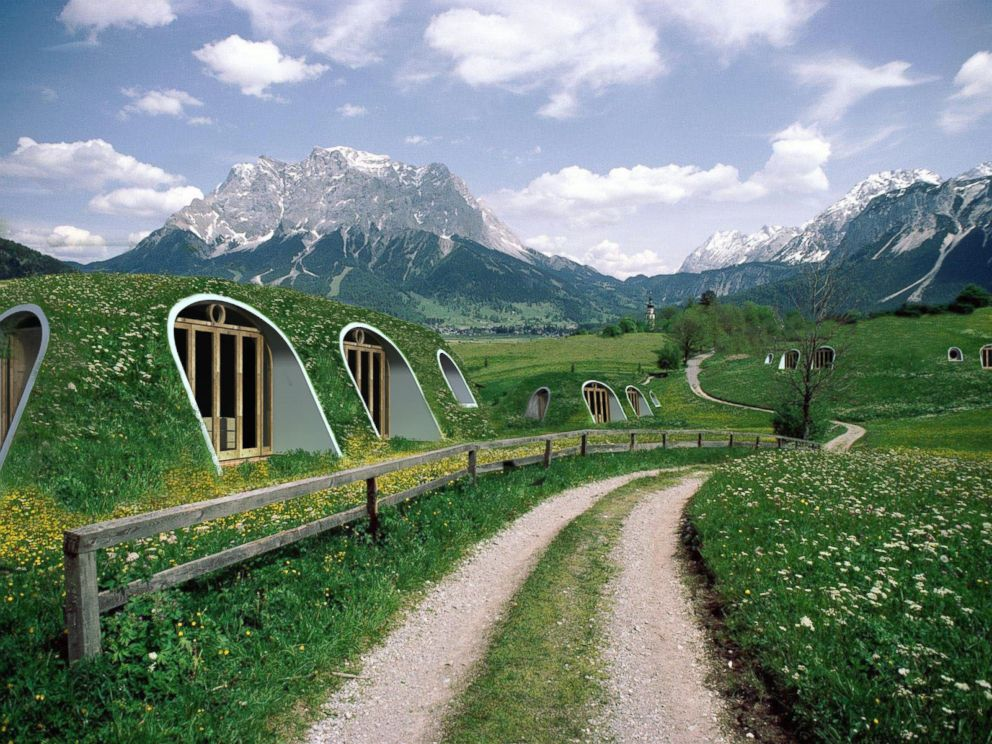 photo green magic homes is changing the way we think about sustainable green living and - Lord Of The Rings Hobbit Home