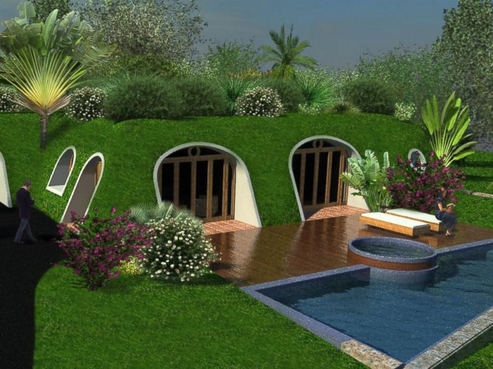 Sustainable Green Homes company creates 'lord of the rings' inspired 'hobbit homes' - abc news