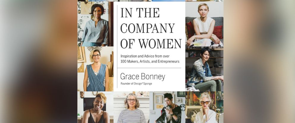 """PHOTO: Design Sponge founder Grace Bonney has authored a new book, """"In the Company of Women."""""""