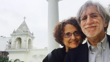 PHOTO: Javier Castellanos and wife Felice Kaufmann found an envelope full of cash in a Barcelona airport and eventually returned it to its proper owner.