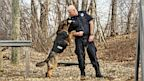 PHOTO: K-9 Raimo with partner Officer Dwane Foisy of Pittsfield, MA.