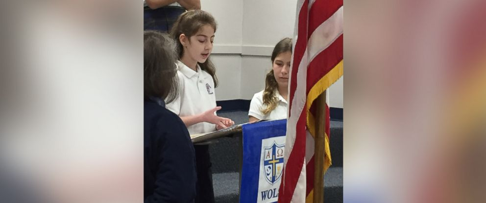 PHOTO: Keira Meikus, 9, of Hoover, Alabama gave a speech to her entire school on what its like having autism on April 7.