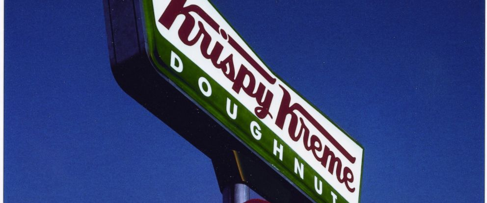 PHOTO: When the hot sign is lit, everyone wants a Krispy Kreme.