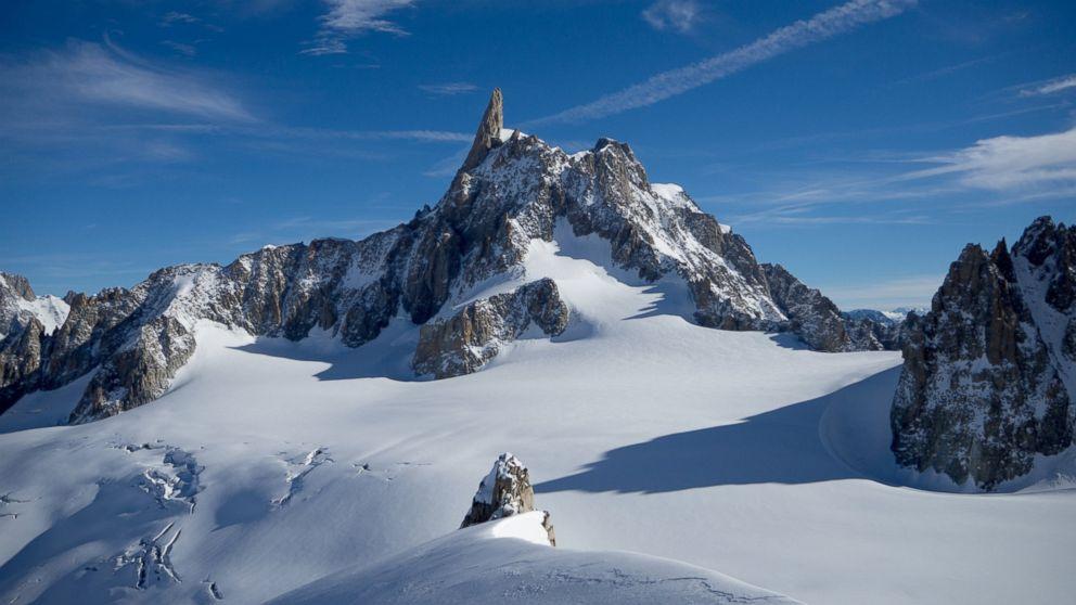 PHOTO: Mont Blanc is Europes highest mountain.