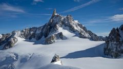 PHOTO: Mont Blanc is Europes highest mountain.