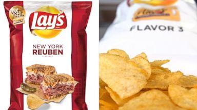 PHOTO:Lays New York Reuben