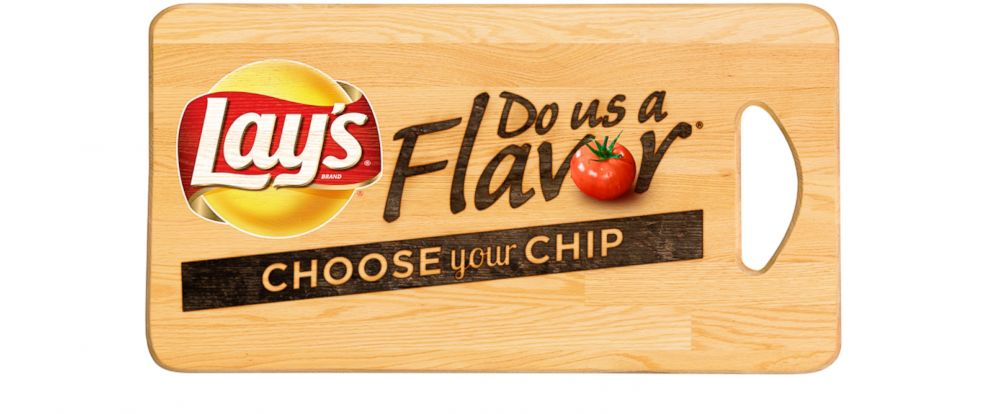 "PHOTO: Lays announced the announced the four finalist flavors in its Lays ""Do Us A Flavor"""