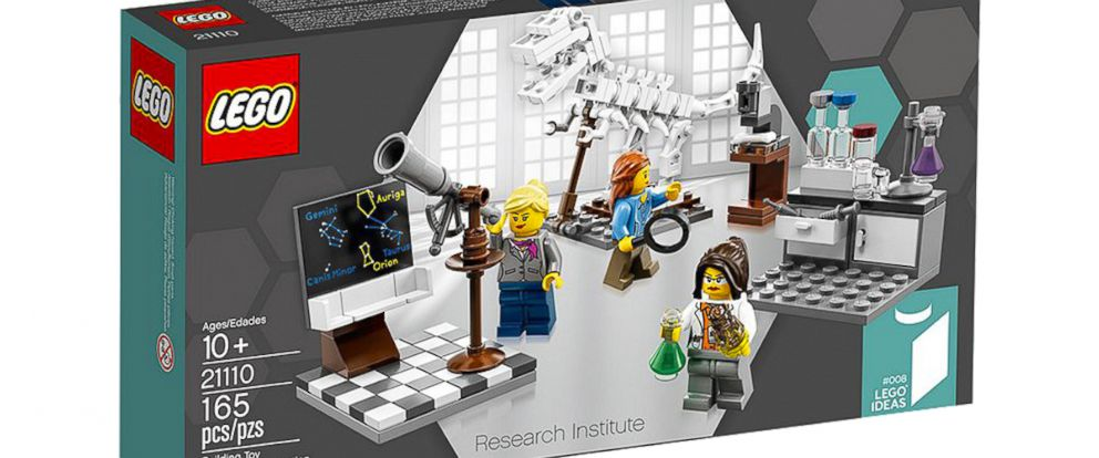 PHOTO: New Lego set, Research Institute.