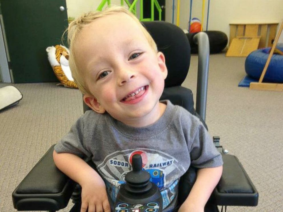 PHOTO: Logan Roninger, 4, was diagnosed with spinal muscular atrophy when he was 18 months old.